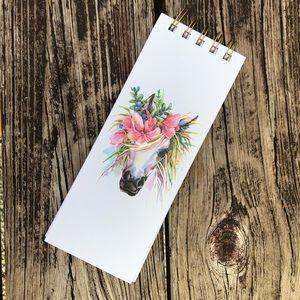 Boho Horse Notebook
